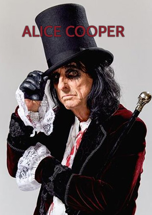 Es darf lauter sein: Alice Cooper